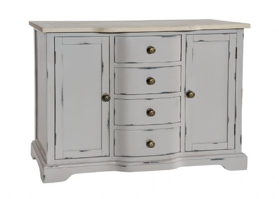 Lostwithiel Grey Small Sideboard - Special Order